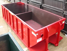Dewatering Rolloff Containers
