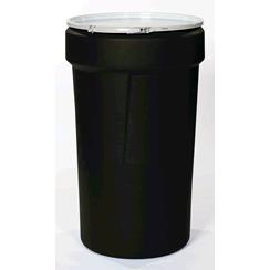 black poly drums