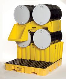 drum-stack -containment