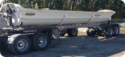 Roll Off Trailer Liners