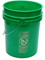 5 Gallon Plastic Pail