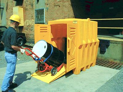 outdoor-drum-storage