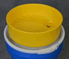 poly-funnel-and-drum